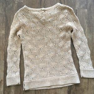 J. Crew Sweaters - XS/XXS J.crew tan knit sweater